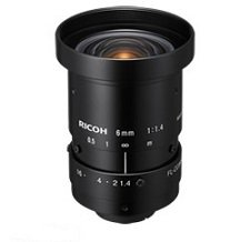 Ricoh 2 Mega-Pixel lense 6mm