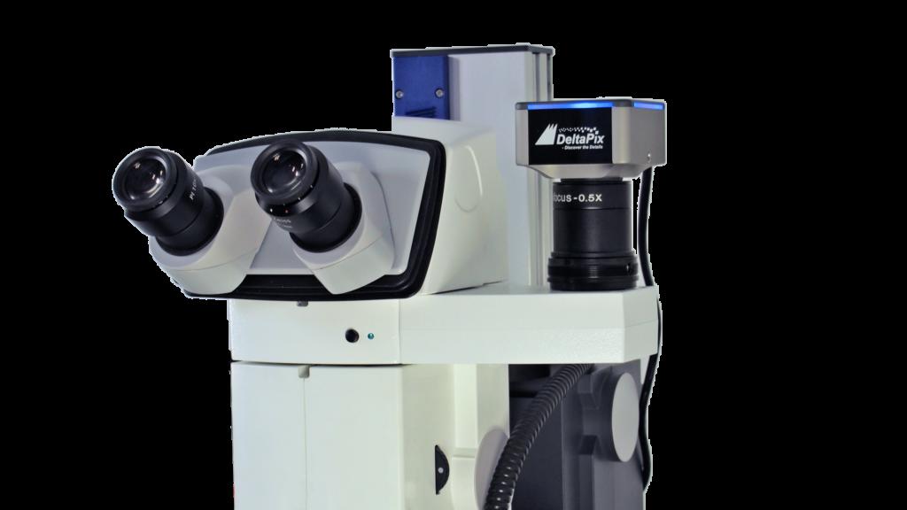DelraPix Microscope camera on V20