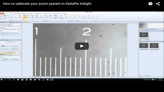 DeltaPix InSight – How to calibrate your zoom system in DeltaPix InSight
