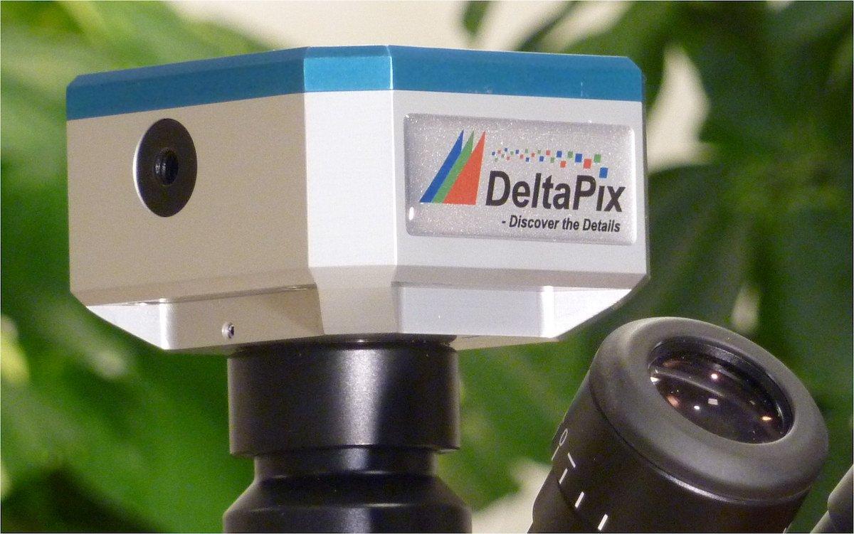 DeltaPix microscope camera the Invenio II series