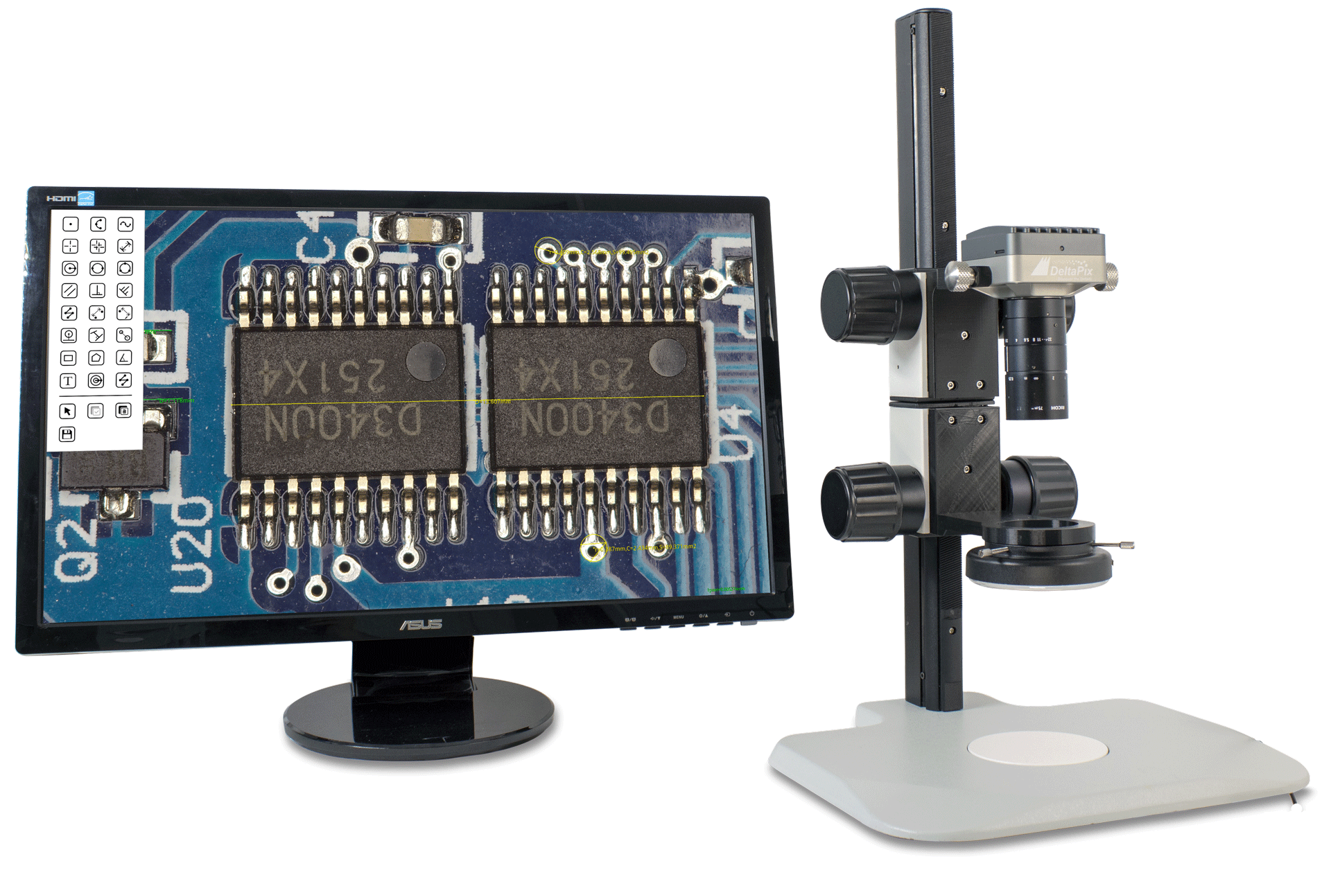 4K inspection microscope