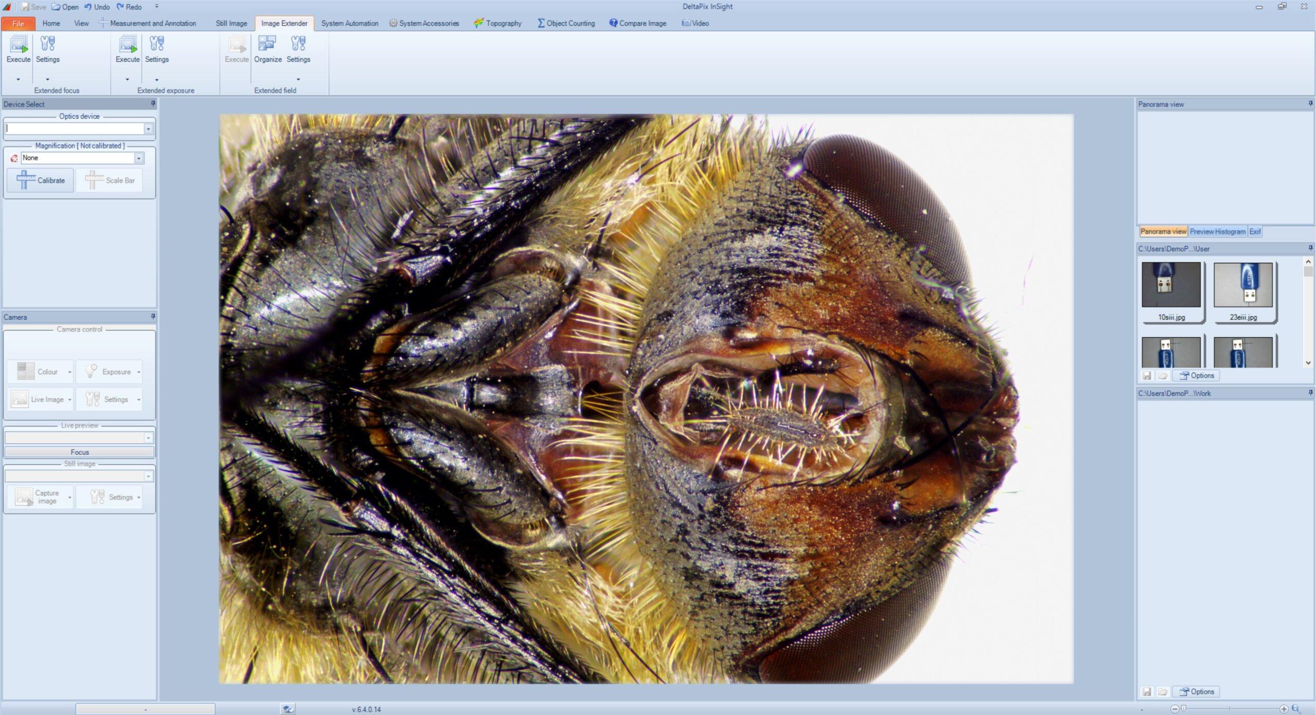 eeef microscope software module