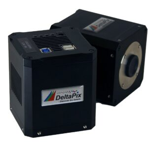 Cooled microscope camera